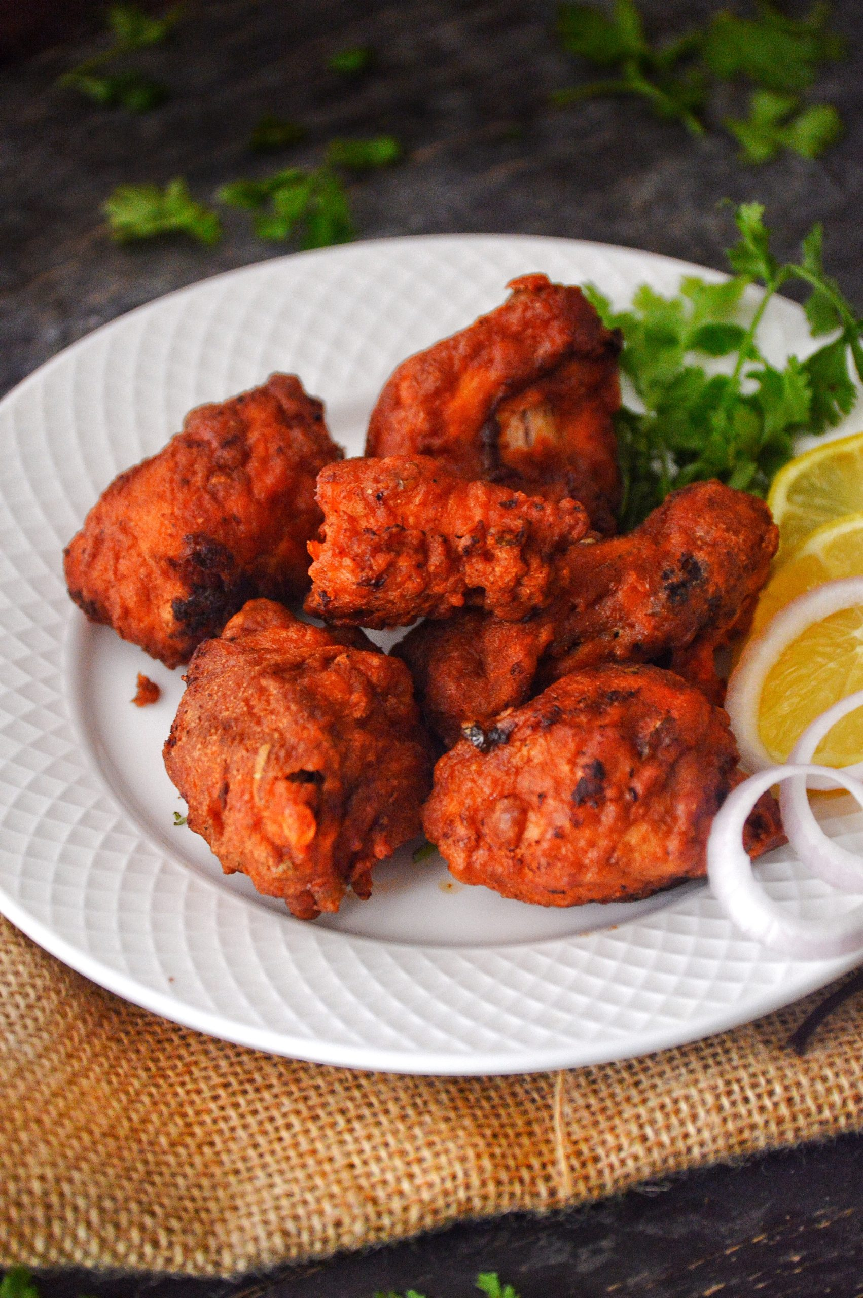 Fried Chicken Kababs ( Bangalore Empire Restaurant Style ...