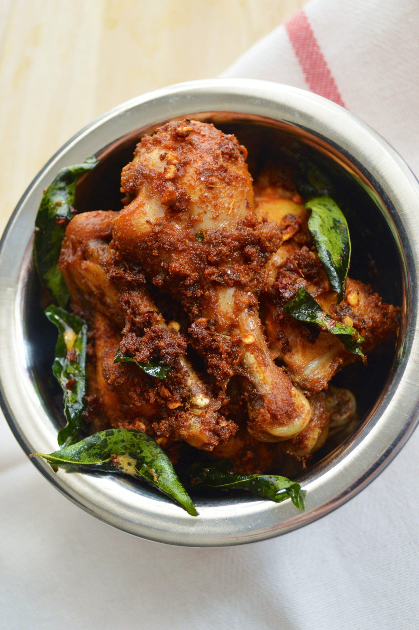Thattukada-Chicken-Fry-Recipe