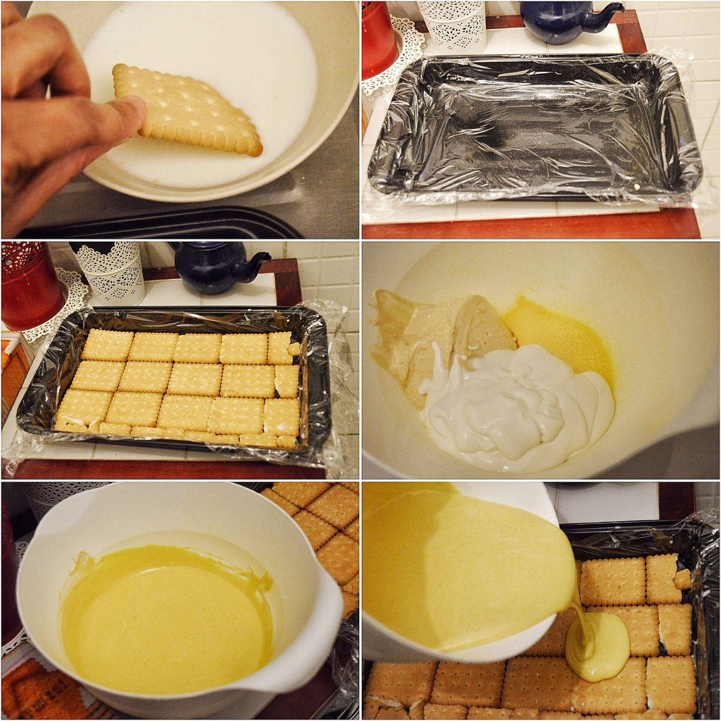 How-to-make-No-Bake-Chocolate-and-Cream-Layer-Pudding