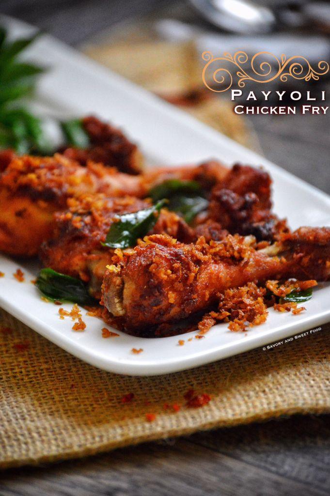 Calicut Paragon Style Payyoli Chicken Fry - Savory&SweetFood
