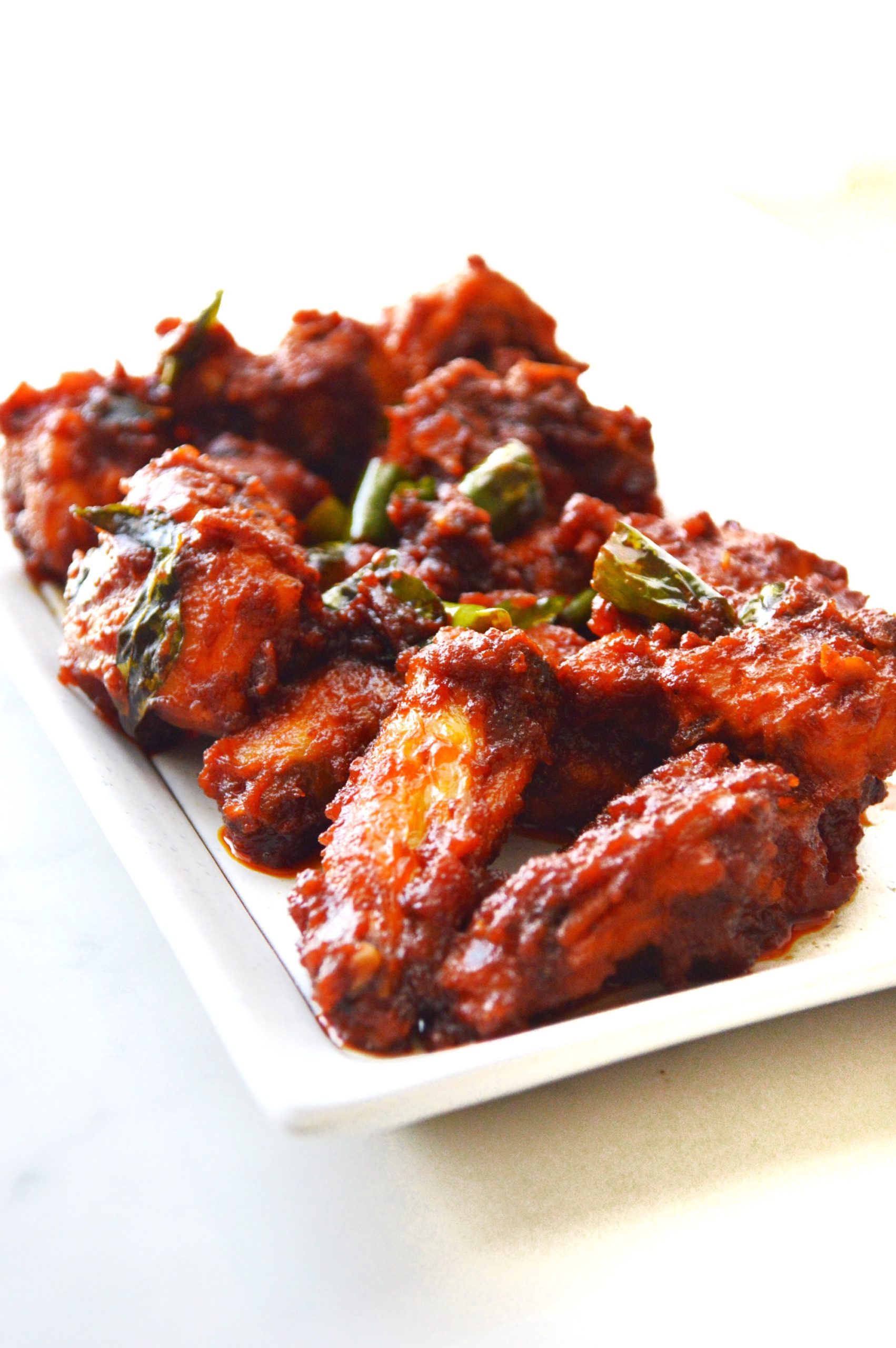 Sweet and Spicy Chicken Fry - Savory&SweetFood