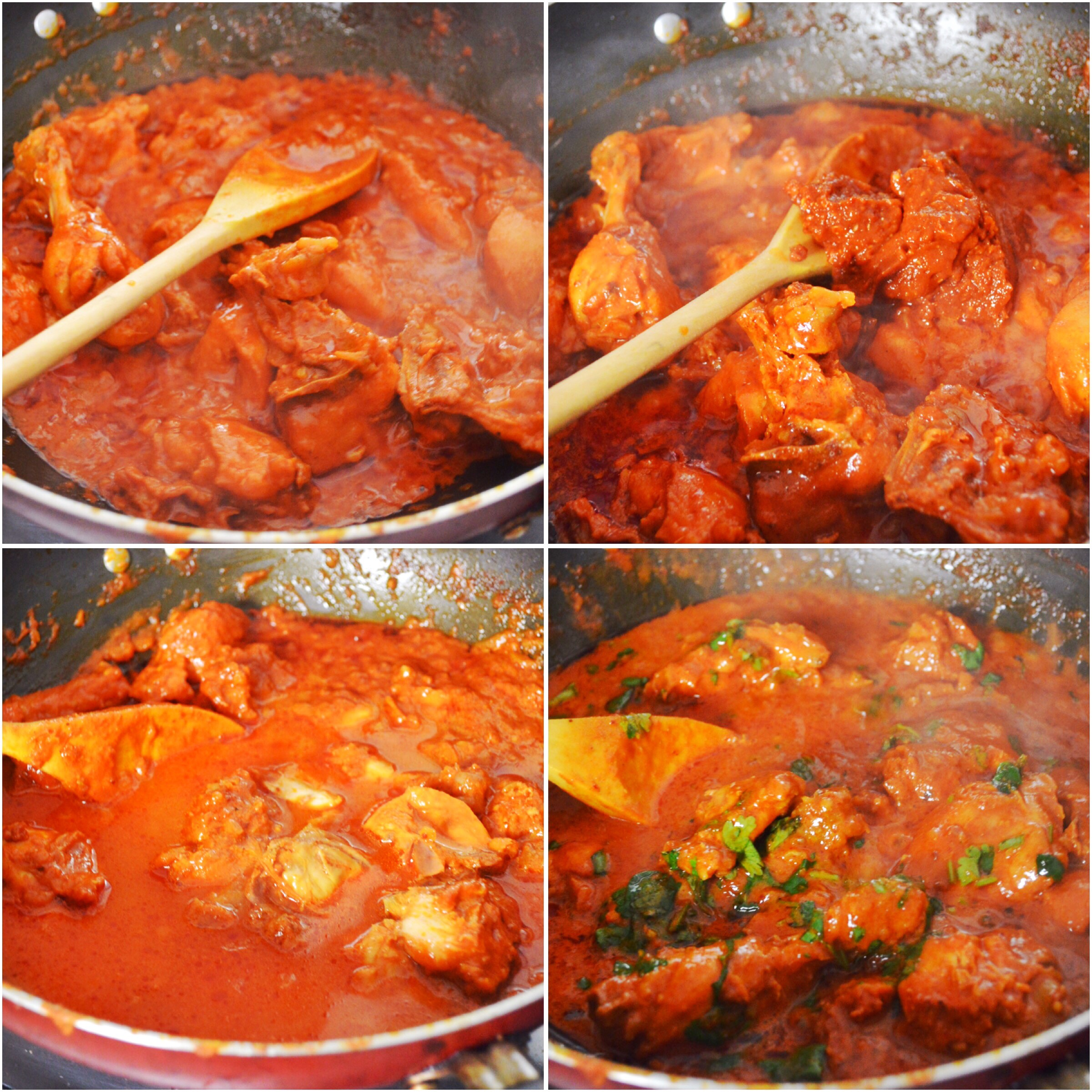 Spicy Indian Style Red Chicken Curry - Savory&SweetFood - photo#4