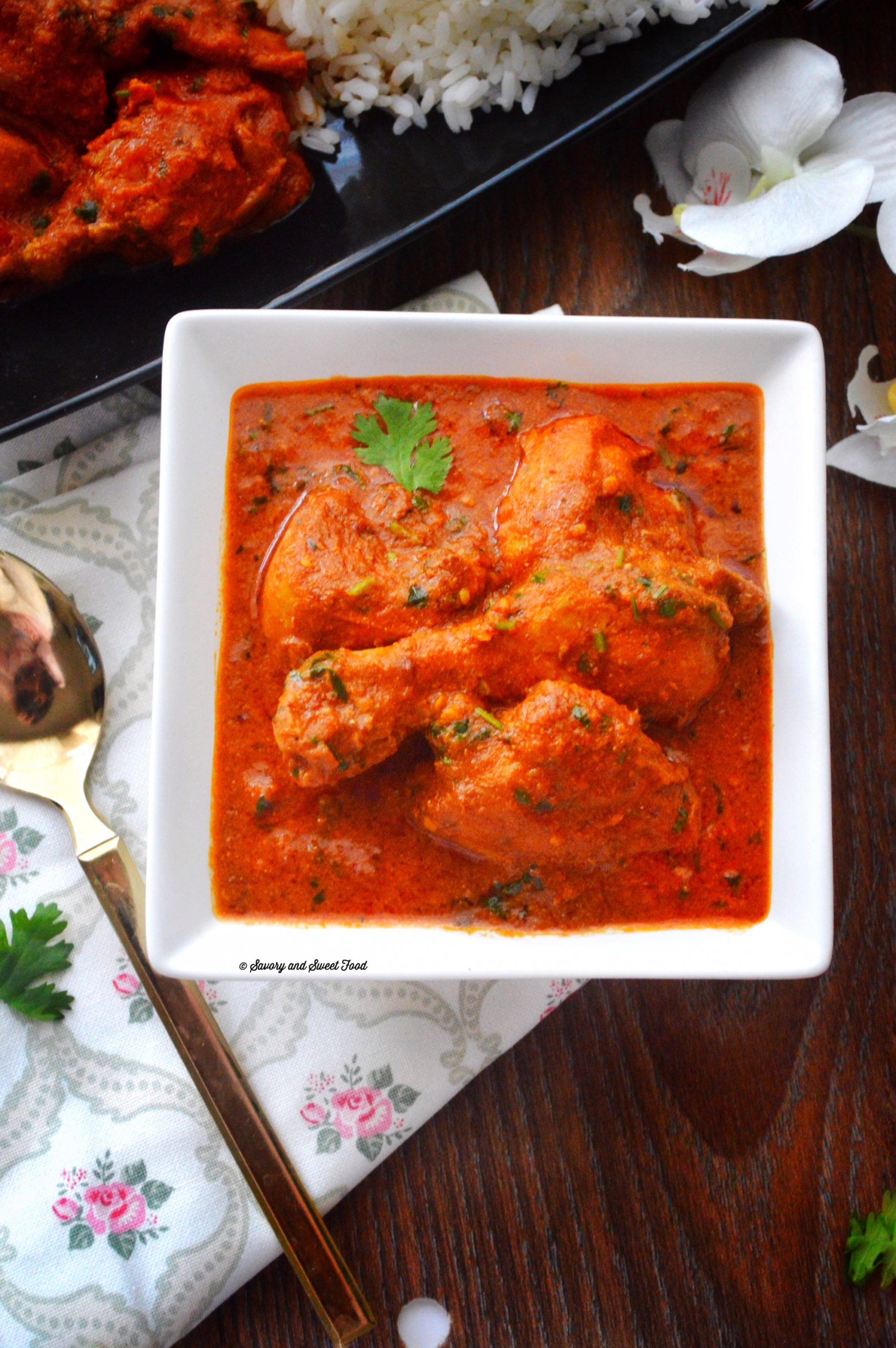 Spicy Indian Style Red Chicken Curry - Savory&SweetFood - photo#18