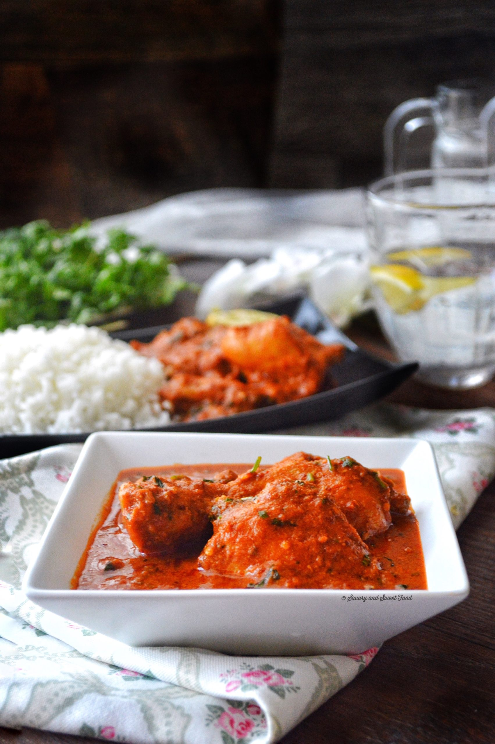 Spicy Indian Style Red Chicken Curry - Savory&SweetFood - photo#17