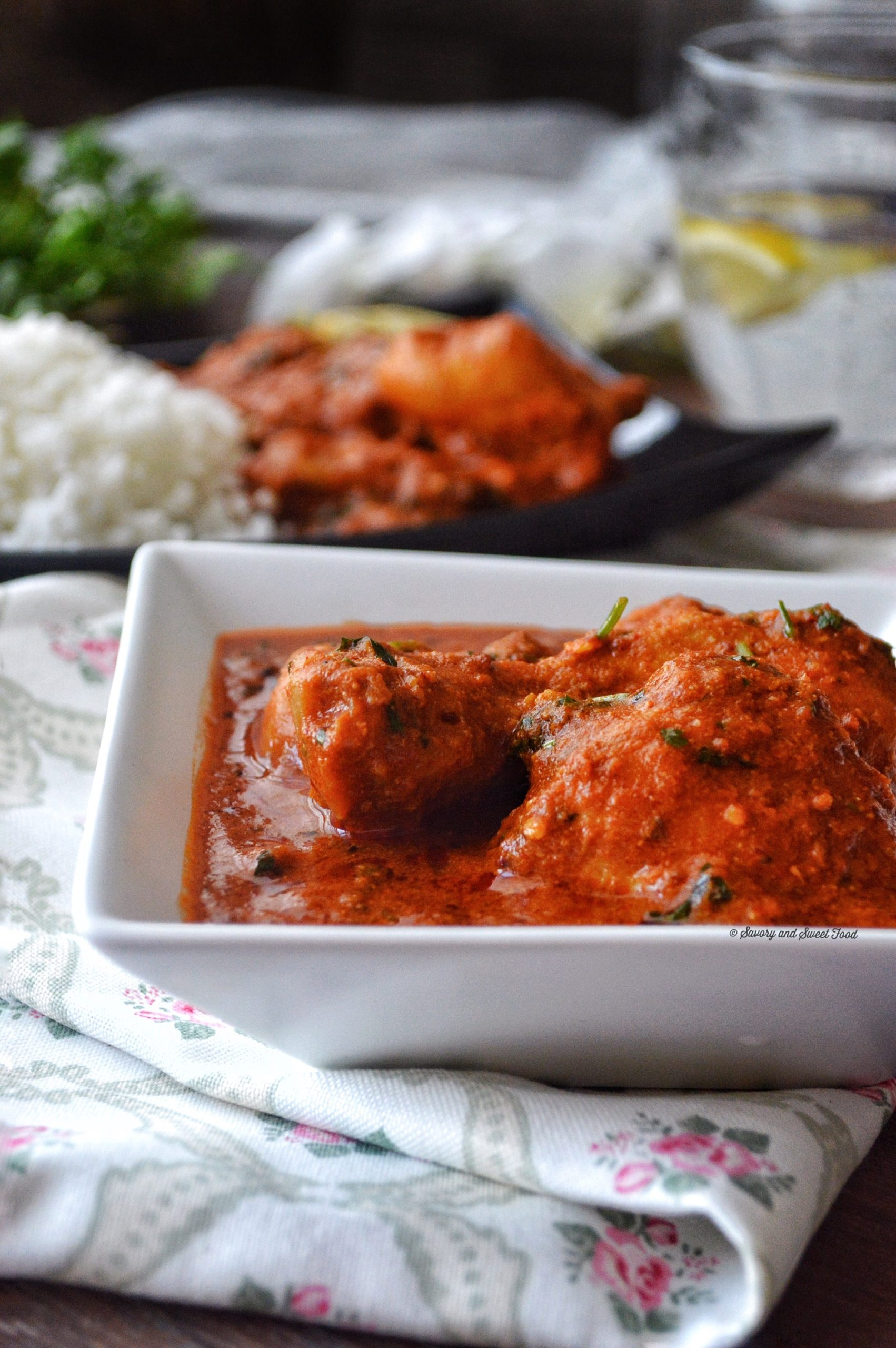 Spicy Indian Style Red Chicken Curry - Savory&SweetFood - photo#14