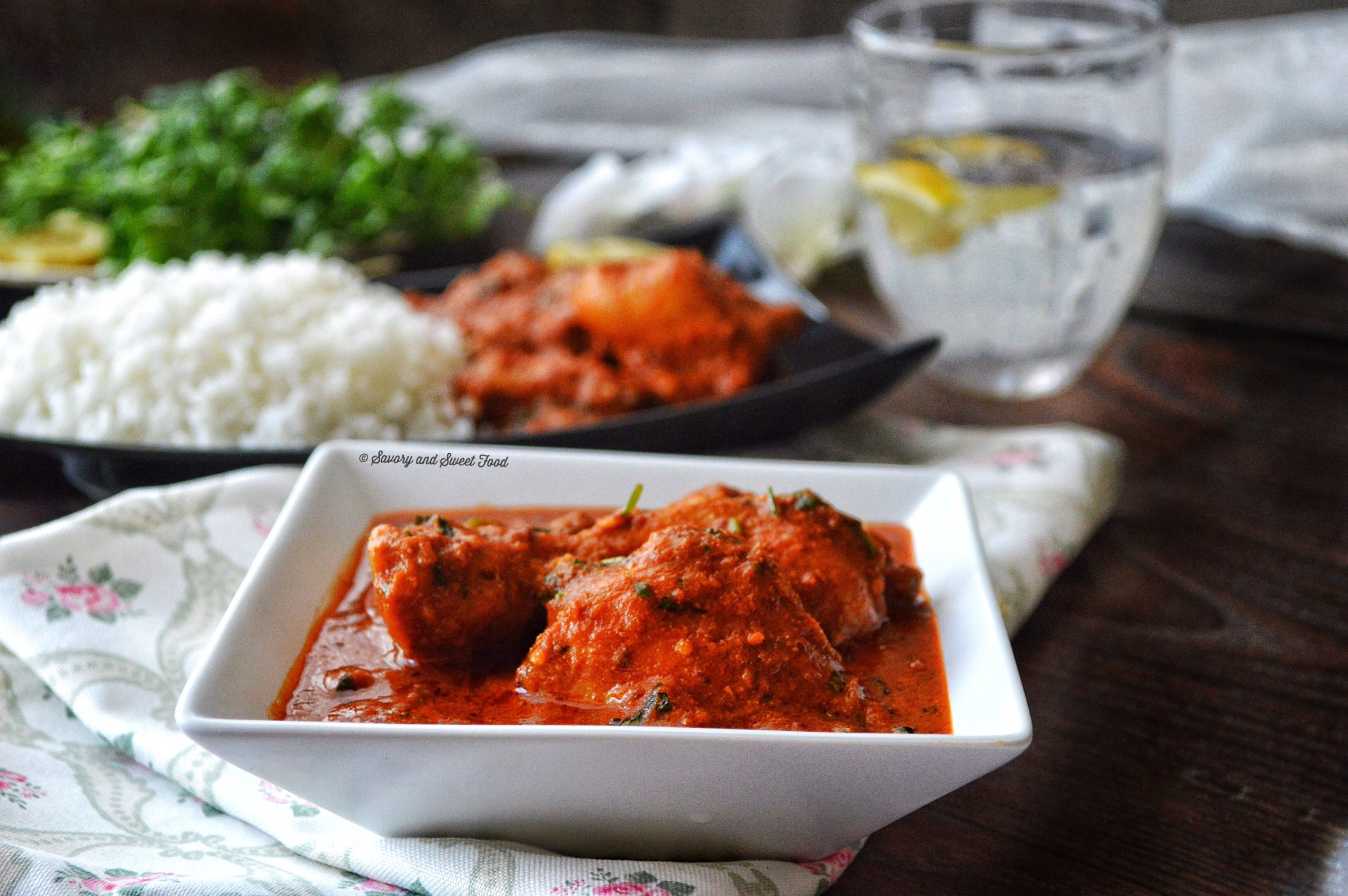 Spicy Indian Style Red Chicken Curry - Savory&SweetFood - photo#25