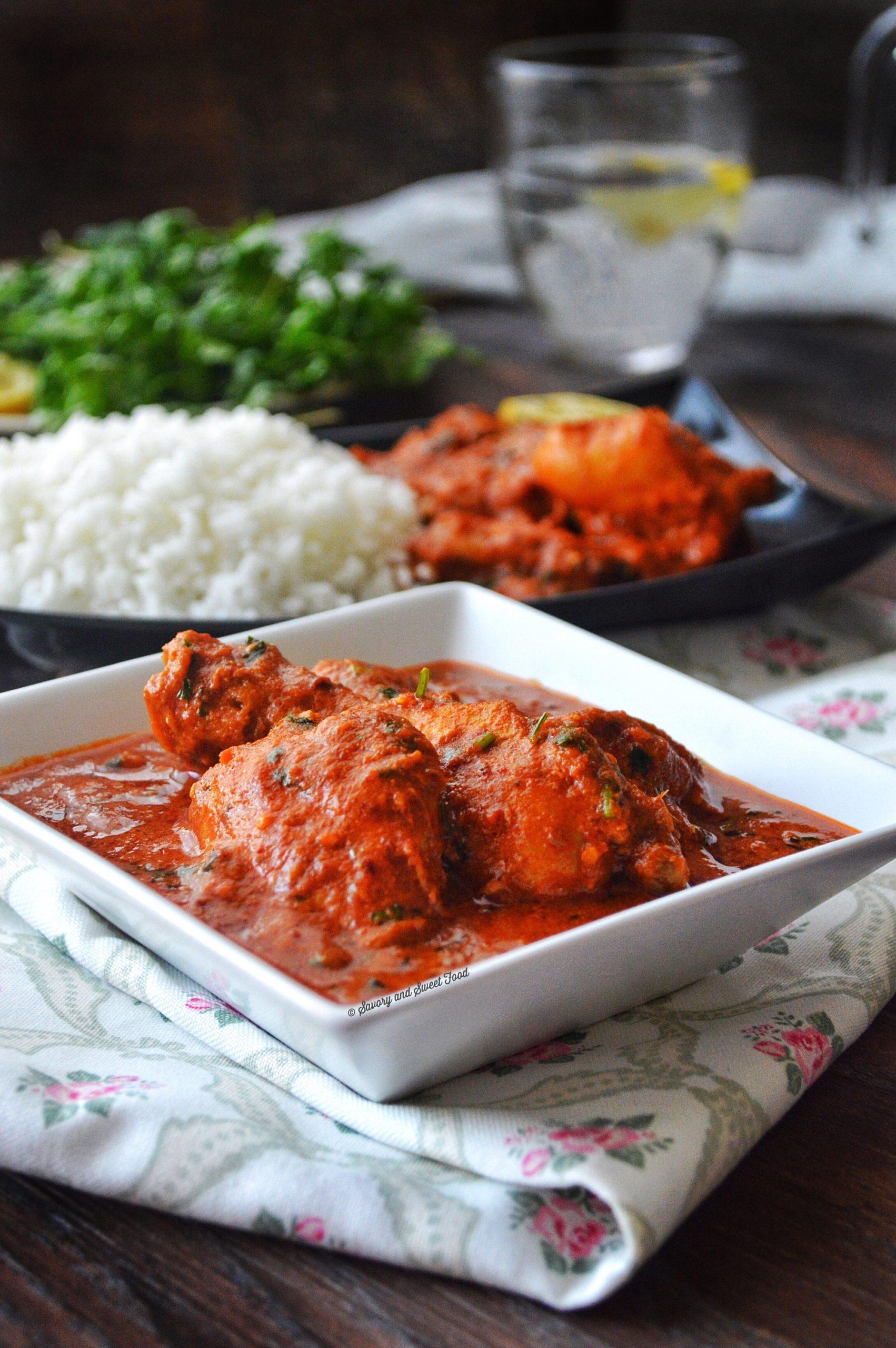 red chicken recipe indian - photo#7