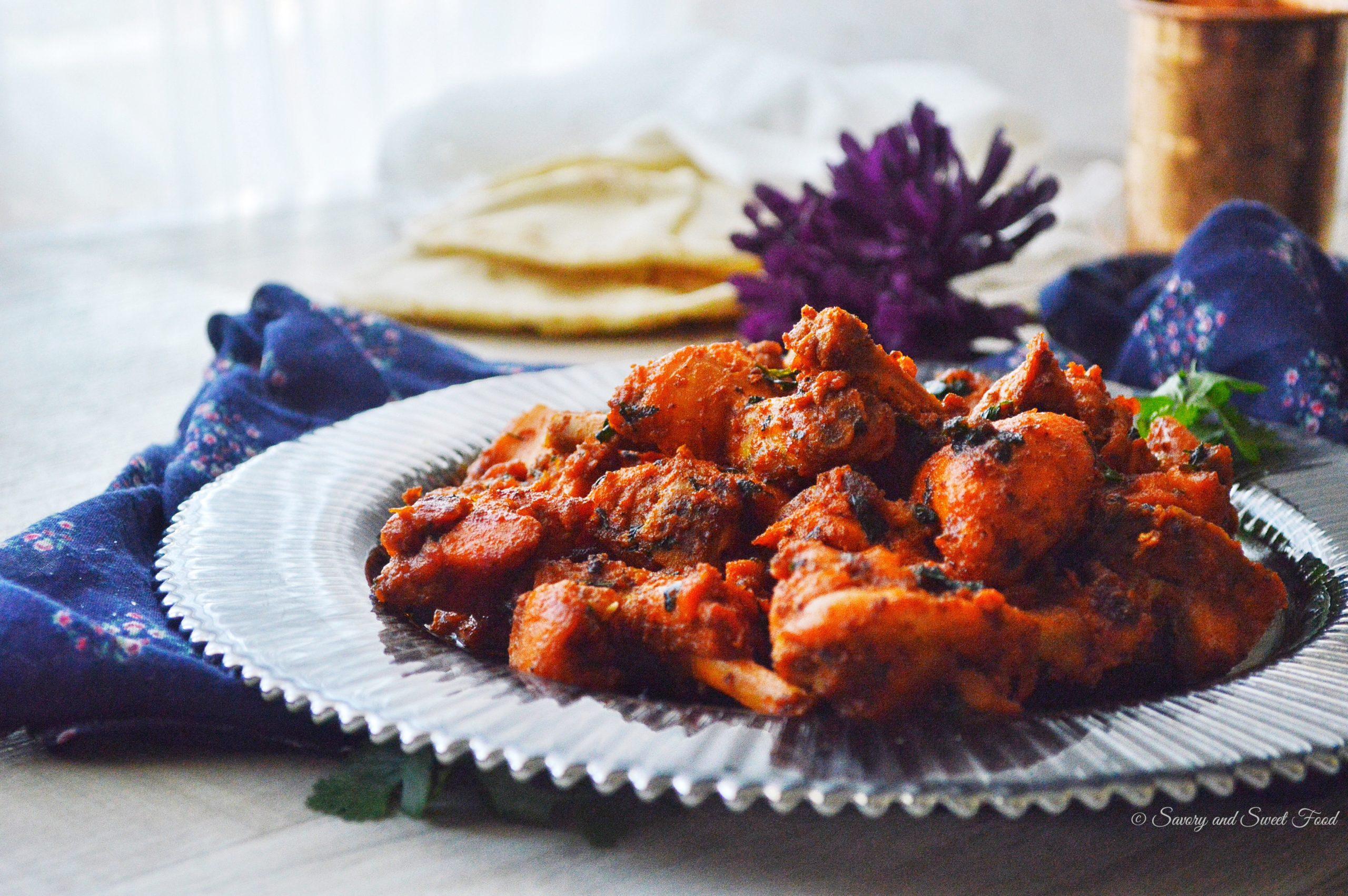 Spicy Dry Chicken