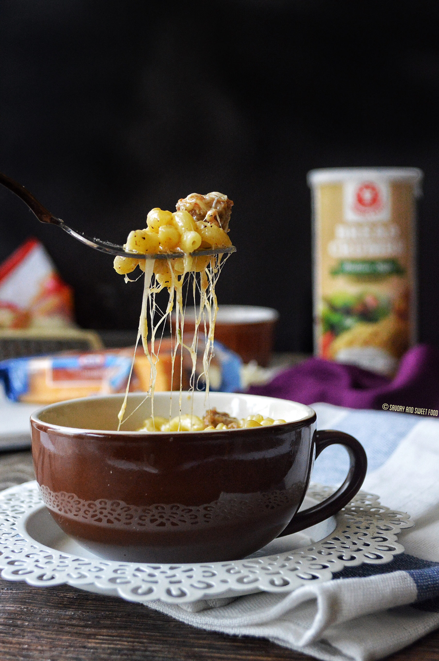 Instant Microwave Mac Cheese In A Mug Savory Sweetfood