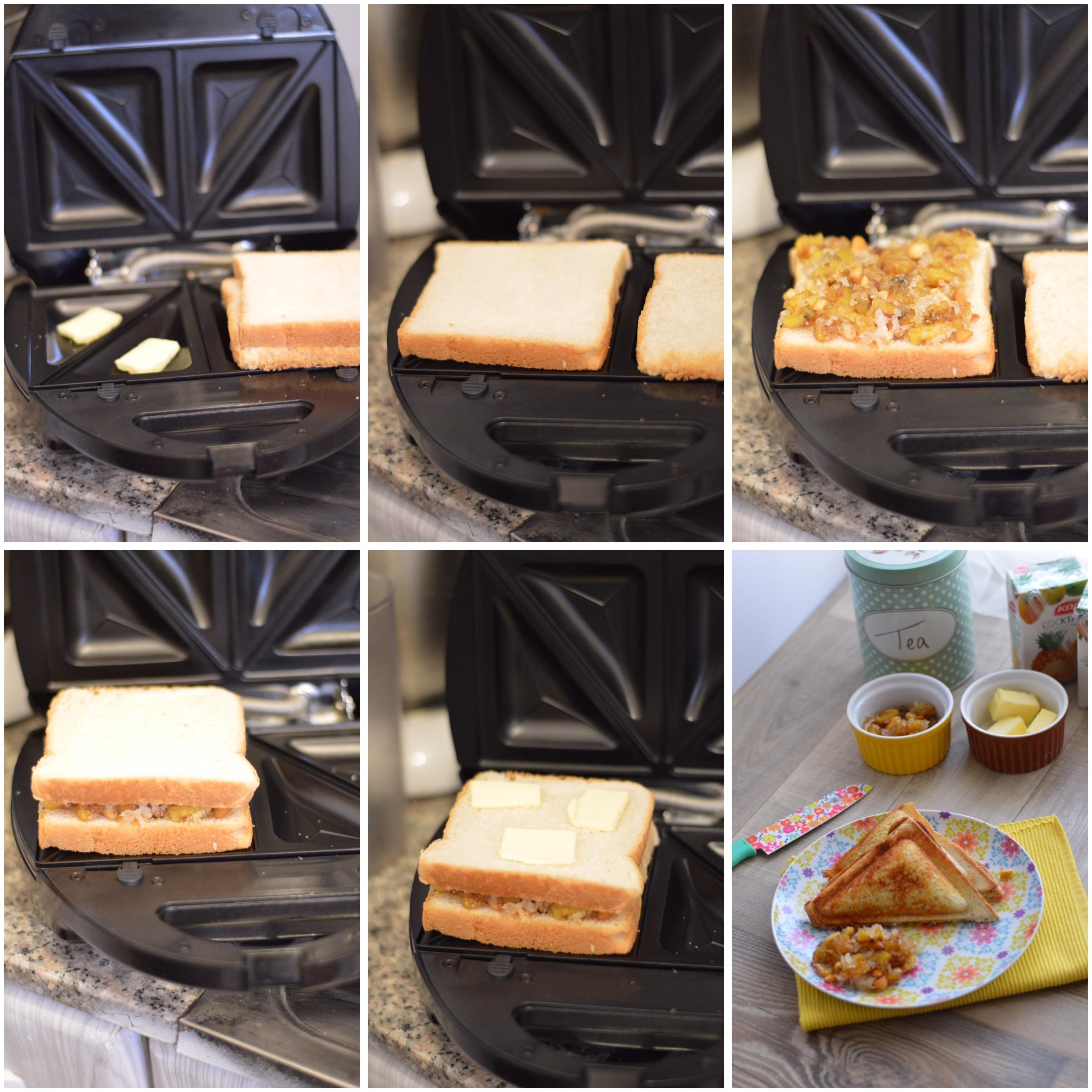 Food Gets Stuck From Sugar Bread