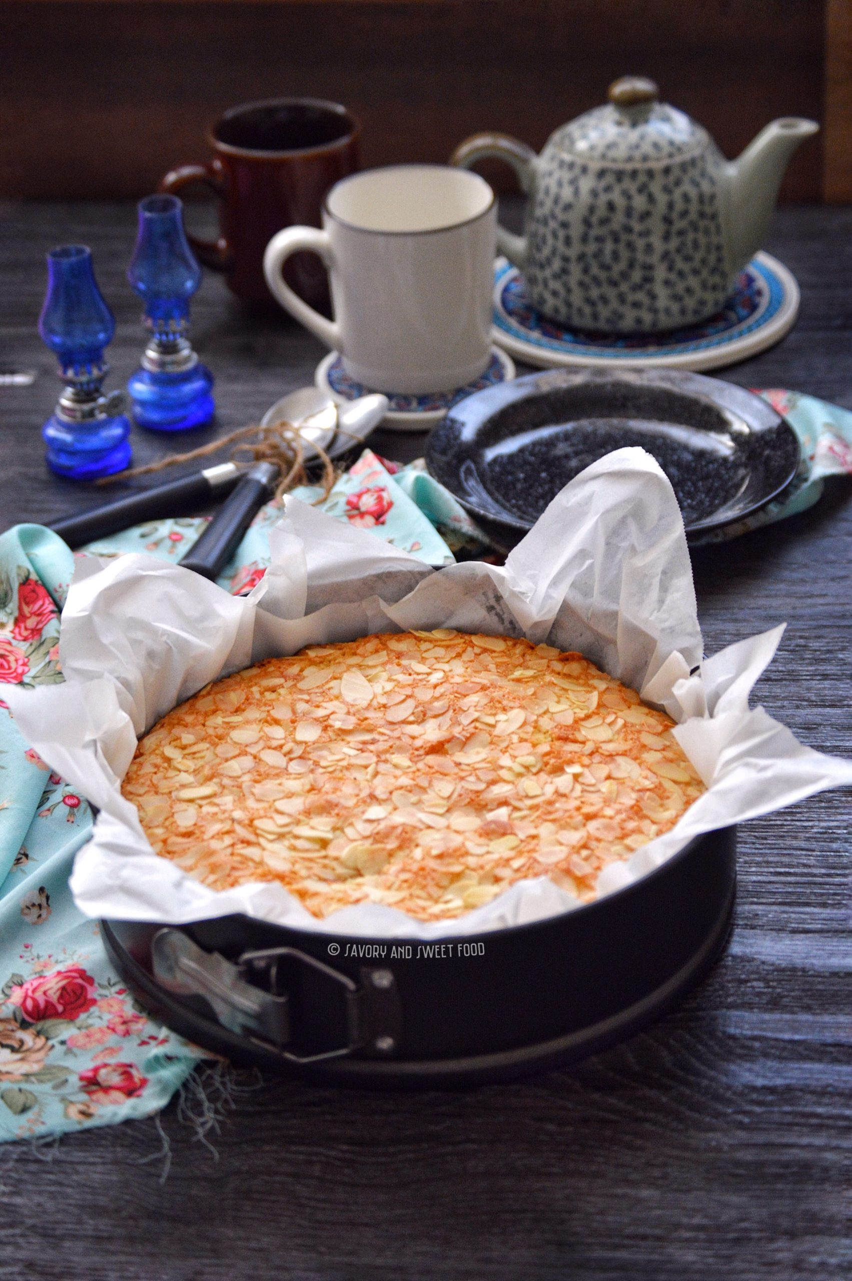 Flourless Almond Amp Coconut Cake Savory Amp Sweetfood