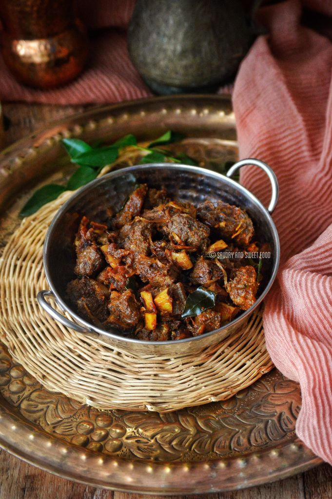 Spicy Beef Fry Savory Amp Sweetfood