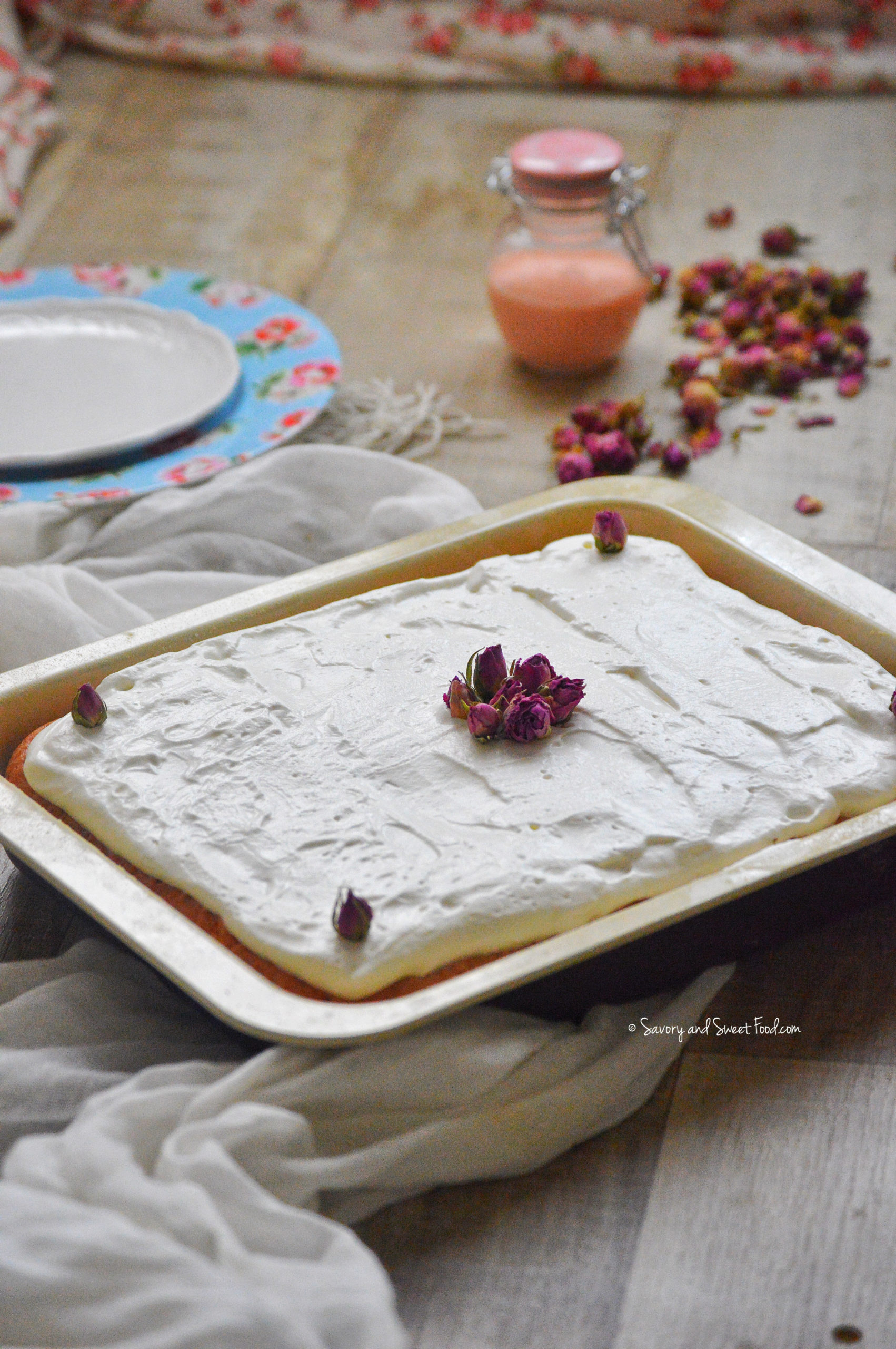 Rose flavored cake recipes