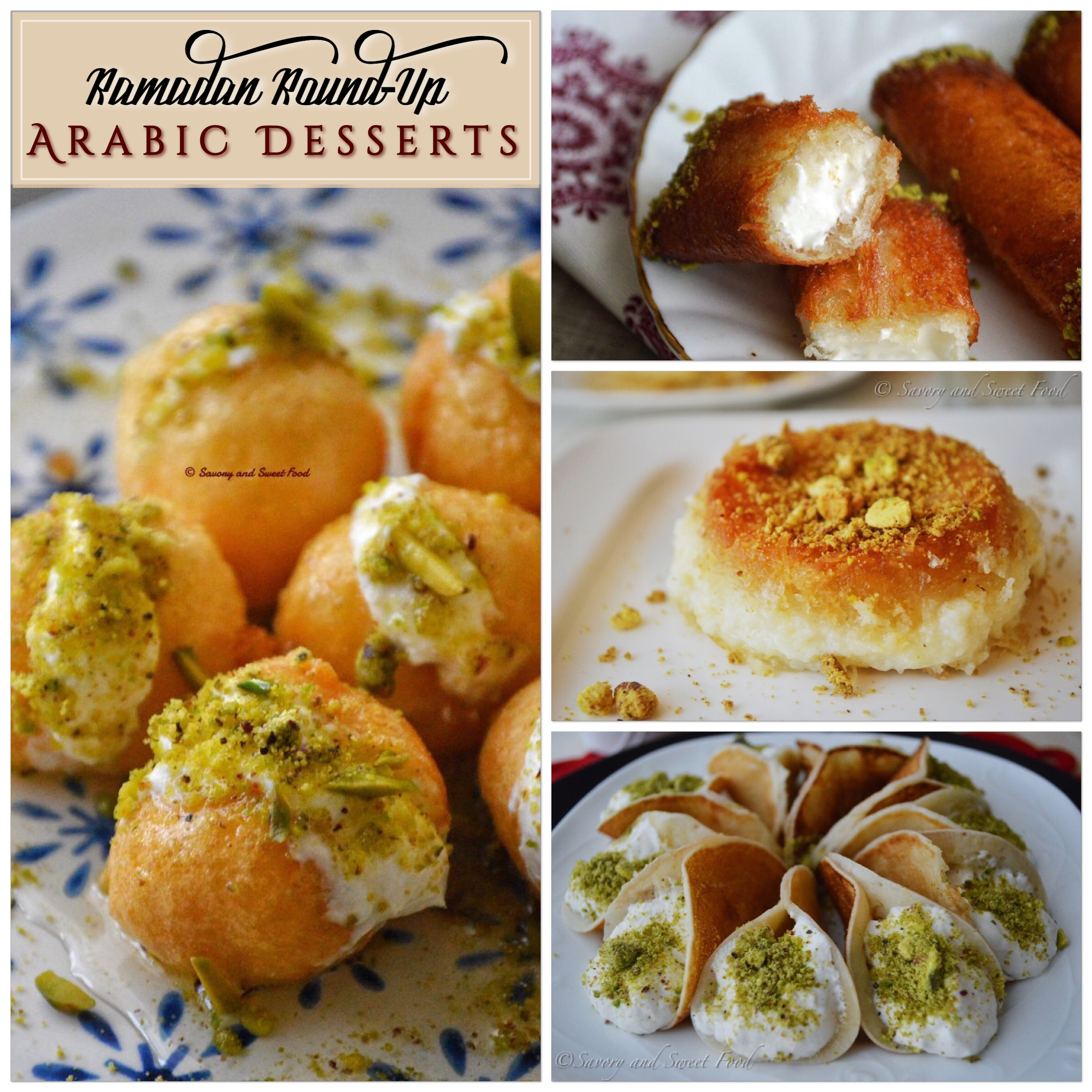 Ramadan 2018 arabic desserts round up savorysweetfood i will be posting it in three sections in shaa allah so here goes the first part where i compiled all the arabic inspired dessert recipes enjoy forumfinder Choice Image